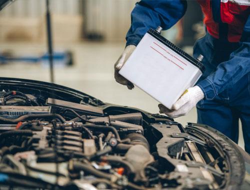 تعمیر و تعویض باتری ماشین