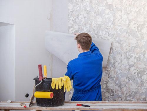 نصب و تعمیر کاغذ دیواری